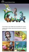 Newcomer - Female PKMN Trainer by Shini-Smurf