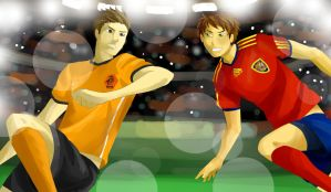 APH: FIFA 2010 FINAL MATCH by Nikolicious