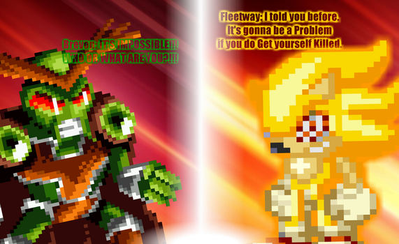 Fleetway: You wanna know Who am i...? by DrizzlyScroll1996