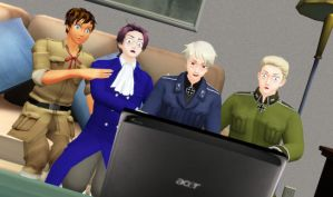 .:Prussia Crashed The Internet - VIDEO LINK:. by xXPhantomaticXx