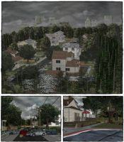 Neighborhood scenery by deexie