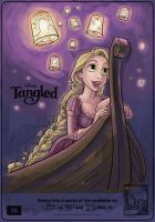 Tangled: Colouring Practice 1 by liebestrauma