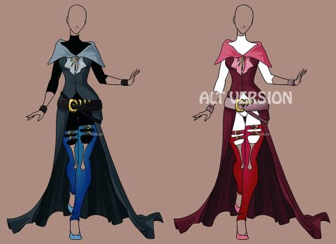 Fashion Adoptable Auction 58 - CLOSED by Karijn-s-Basement
