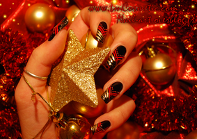 christmas blanck and red by Tartofraises