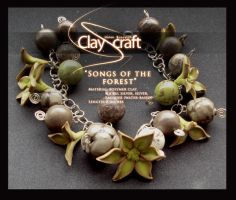 Songs of the forest bracelet by oione