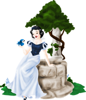 Disney's Snow White by WingedKitty