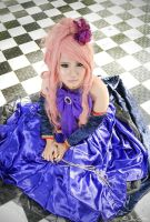 Megurine Luka - Sandplay Singing Of the Dragon [5] by kerubear