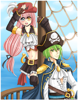 A Pirate's Life For Me! by Chikukko