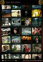 The Hunger Games Poster by sionedfearon