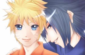 Sasuke and Naruto by smartcat101