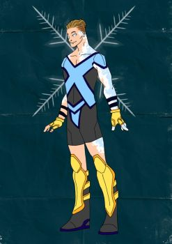 Iceman Redesign! by Comicbookguy54321