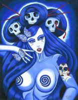 Skull Priestess by Sexycreations