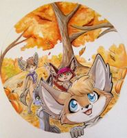 Hello Autumn! by TheGreenCoyote