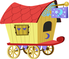 Trixie's Wagon by Jeatz-Axl
