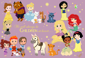 Disney - Always Be Children by Cysco-Inu
