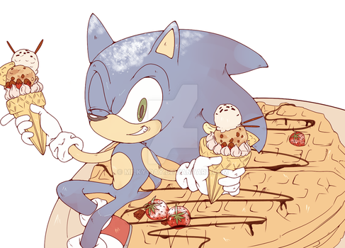 Sweet Boy Sonic (Gift) by Requiempeaux