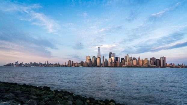 New York Sunset by Enigma-Fotos