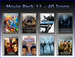 Movie Pack 11 - 40 Icons by jake2456