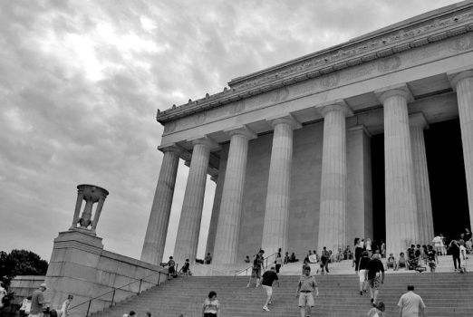 Lincoln Memorial by xdilemma