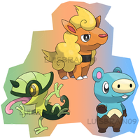 New Tekioh Starters by LuisBrain
