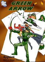 Green Arrow Part 2 Cover by Dalekrider123