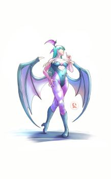 Morrigan - Ssssh! - DONE! by CiPi82