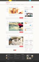 Blog Homepage Design by NiravJoshi