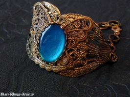 Butterfly cuff by BlackWings-jewelry