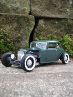 Plastic Model A by RedlineGearhead