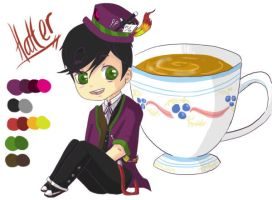 Hatter chibi ref by costume-cat