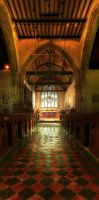 Alfriston Church by wreck-photography
