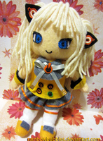 SeeU Vocaloid Plush by Rainbowbubbles