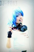 Vinyl Scratch Cosplay: DJ-PON3 by Awesome-Vivi