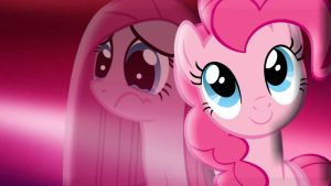 Hidden Sadness Pinkamena Diane Pie by pegasister1000