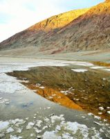 Badwater Reflection by LiveLifeWild