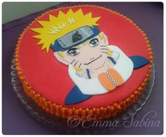 Naruto Cake by EmmaSabina