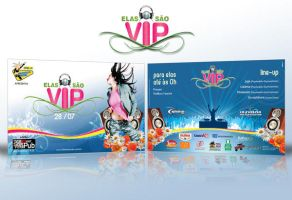 Elas sao vip flyer by L1pp3b0y