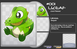 Lizard Pokemon by MizterSiah