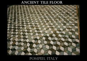 Ancient Tile Floor, Pompeii by AG88