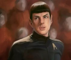 Spock XI by Alex-JD-Black