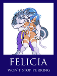 Talbain X Felicia by CruiseShipper