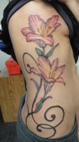 Tiger Lily Tattoo by Digger9224