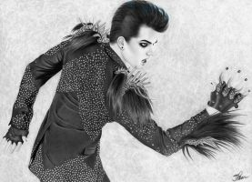 Adam Lambert Fierce by santabillie