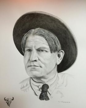 The Cowboy Artist (SOLD) by TheWestIsNotDead