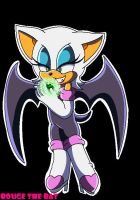 .:Rouge The Bat:. by FabienneTheHedgehog