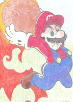 Mario Basketball by SupaSmashSketcher