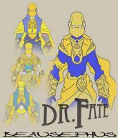 DR. FATE - REDESIGN IDEAS by beausephus