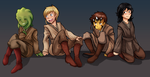 Padawans, Padawans Everywhere. by MonochromeAgent