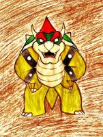 Bowser by JasmineLovesDrawing