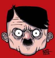 Hitler for T-shirt by KEF0